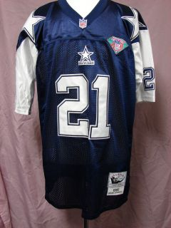 Deion Sanders Throwback Dallas Cowboys NFL Jersey Size 56