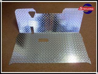 Aluminum Diamond Plate Floor Mat for EZGO Golf Cart TXT 94 Up