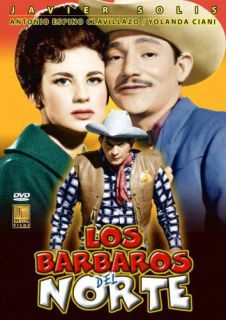 Los Barbaros Del Norte 1962 Clavillazo Javier Solis 735978416927