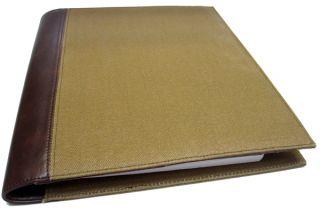 Day Timer Canvas Folio Size Organizer Planner Journal