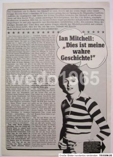 Rosetta Stone   Bay City Rollers   German 6 page article