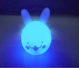 Change 7 Colors Colorful Rabbit LED Night Light Flash Creative Toys