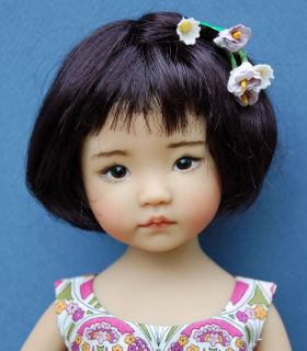 Dianna Effner 13 Vinyl Little Darling Hand Painted by Kuwahi Dolls