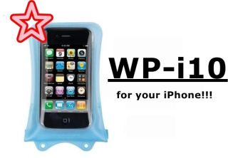 Dicapac WP i10 Waterproof Underwater Case for iPhone 4s iPhone 4 and