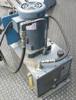 delta power 1 2hp heavy duty hydraulic pump # b 1