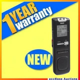 RCA USB 400 Hour 1GB Digital Voice Recorder Ideal for EVP Ghost