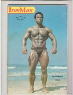 Bodybuilding Muscle Fitness Magazine Chris Dickerson 9 80