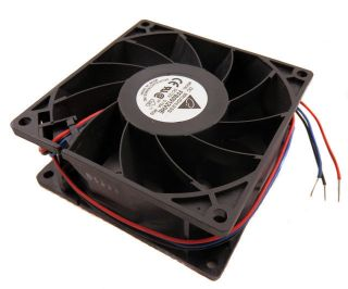 Delta Electronics 92 x 92 x 38mm 12VDC 0 75A Brushless Fan FFB0912VHE