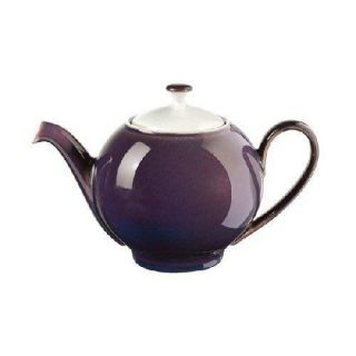 Denby Amethyst Tea Set Teapot Cream Sugar Teacups Sauc