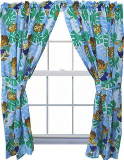 New Diego Animal Rescuer Curtains Jungle Green Spanish Window Drapery