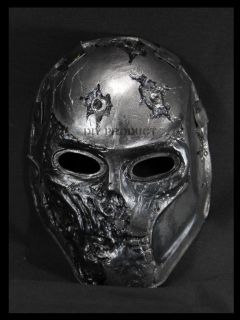 of Two Mask Paintball Mask Airsoft BB Gun Mask The Death Metal