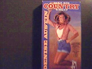 Denise Austin   Kickin With Country Workout (VHS) VGC