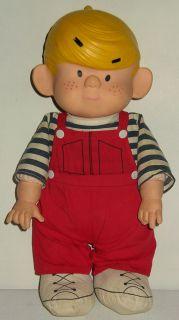 Adorable Vintage DENNIS THE MENACE Doll Comic Book Cartoon Figure