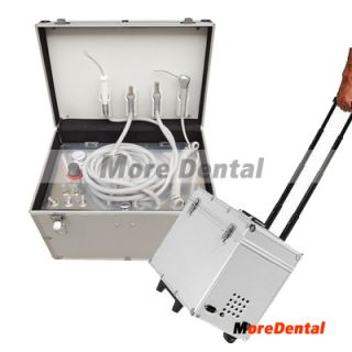Dental Portable Dental Unit Metal Mobile Case Dental Supply Equipment