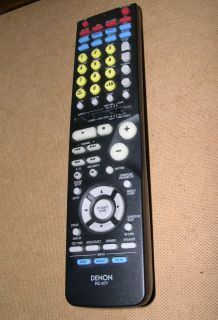Denon RC 977 Remote Control Works with Denon AVR 1705 485 485S 685 DHT