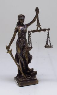 Item LADY JUSTICE GODDESS OF JUSTICE DIKE FIGURINE FIGURE.GREEK/ROMAN