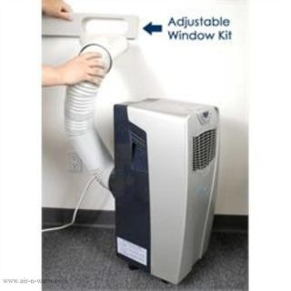 AC 10000E Newair 10 000 BTU Scratch Dent Silver Portable Air