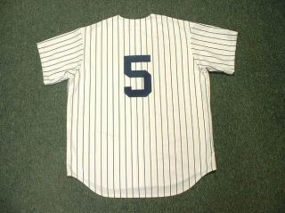 joe dimaggio new york yankees home jersey large
