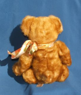 dan dee collectors choice teddy bear plush soft caramel cinnamon plush
