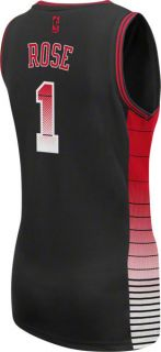 Derrick Rose Jersey Womens Adidas Vibe Black 1 Chicago Bulls Jersey