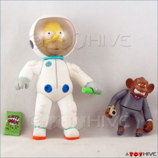 Simpsons Deep Space Homer World of Springfield WOS Series 15 Loose