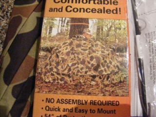Buck Wing deer hunting tree stand umbrella & turkey blind hunt in the