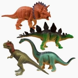 Dinosaur Action Figures Assorted Styles Learning Parties Prizes New