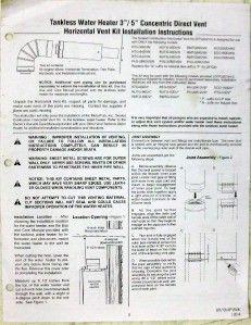 rheem rtg 20210 3 5 horizontal vent termination kit