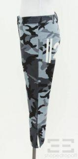 Christian Dior 3pc Blue Camo Top Jacket Pant Set US 6