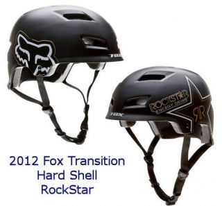Fox Rockstar Transition Hard Shell Bike Helmet Dirt Trail Small