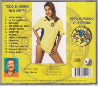 Aguilas Del America CD La Porra Aguilas Aficionado Musica Exclusiva