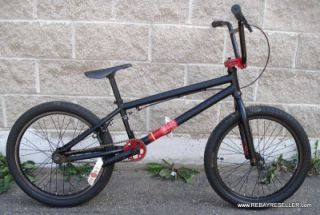 felt bmx bike chasm dirt jump street black red dj excellent