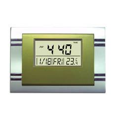 Desktop Wall Digital Alarm Clock Temperature Calendar