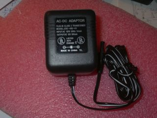 Uniden or Desk Top Scanner Replacement AC Adapter AC 2