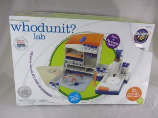 Discovery Channel for Kids WHODUNIT CSI Forensics Lab for Kids   Solve