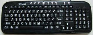 High quality keyboard rated for greater than 10 million keystrokes.