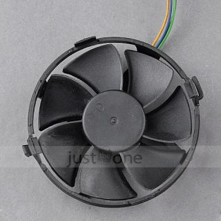 For Computer PC PWM Intel LGA 775 Plastic Round CPU Cooling Cooler Fan