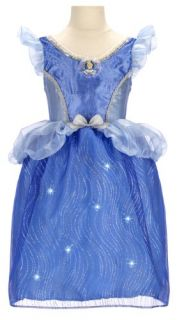 Features of Disney Princess Cinderella Feature Light Up Dress