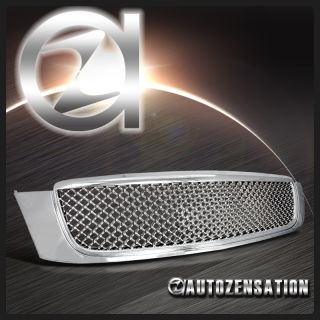 00 05 Cadillac DeVille Chrome Hood Mesh Grill Honeycomb Grille