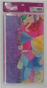 Disney Princess Party Set (Tablecloth & Invitations) **Brand New
