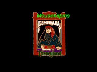 Penny Arcade Fortune Teller Esmeralda Disney 1998 Pin