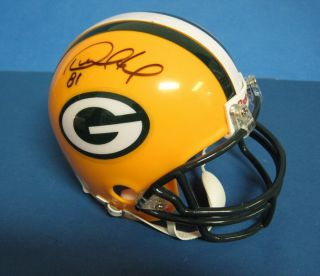 Desmond Howard Packers Signed/Autographed Mini Helmet PSA/DNA