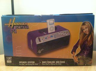 Disney Hannah Montana iPod Speaker System Guitar Amplifier Stereo