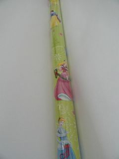 Disney Princess Wrapping Paper for Sale SEALED Brand New