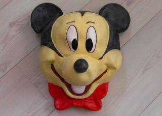 WOW Disney Mickey Mouse Adult Latex Mask Mens Halloween Costume Minnie