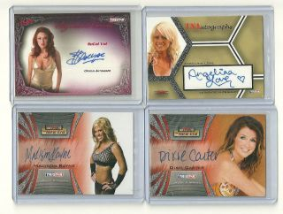Tristar TNA Divas Angelina Love Dixie Carter SoCal Val Madison Rayne
