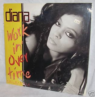 SEALED Diana Ross Workin Overtime 12 Single Motown