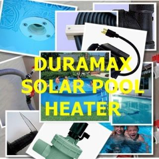 Solar Swimming Pool Heater One Day DIY Project Heat Your Pool for Free