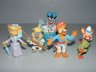 Lote 5 Figuras PVC Sandokan TV BRB Startoys Figure Lot Star Toys 1992