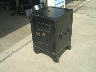 Vintage 1865 Dodds MacNeale and Urban Floor Safe